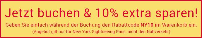 New York Sightseeing Pass - Jetzt buchen und 10% sparen!