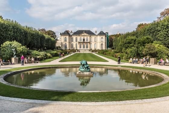 Musee Rodin: Garten und Skulptur des Bildhauers Auguste Rodin