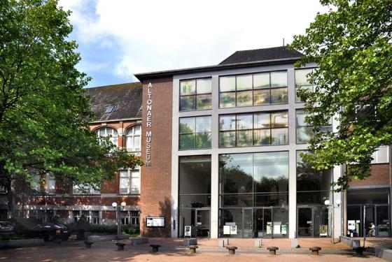 Die Außenansicht auf das Museum für Kunst und Kultur in Hamburg