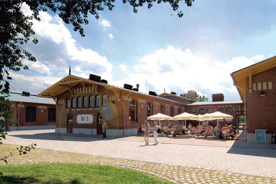 BallinStadt das Auswanderermuseum in der Aussenansicht
