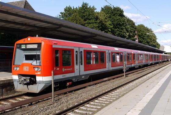 S-Bahn des HVV