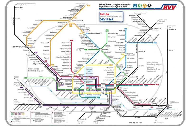 nahverkehr hamburg karte HVV Öffentliche Verkehrsmittel Hamburg inkl.   Hamburg City Pass