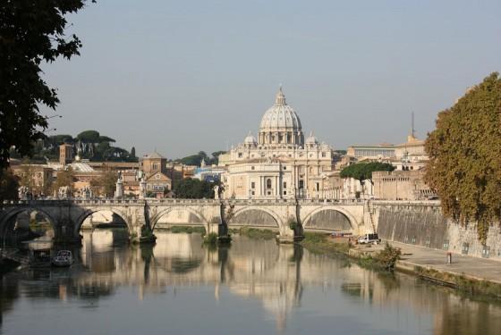 Petersdom in Rom in der Vatikanstadt