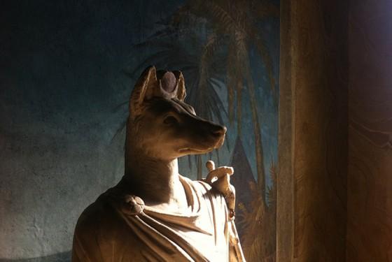 Museo Gregoriano Egizio Statue historisch und ägyptisch