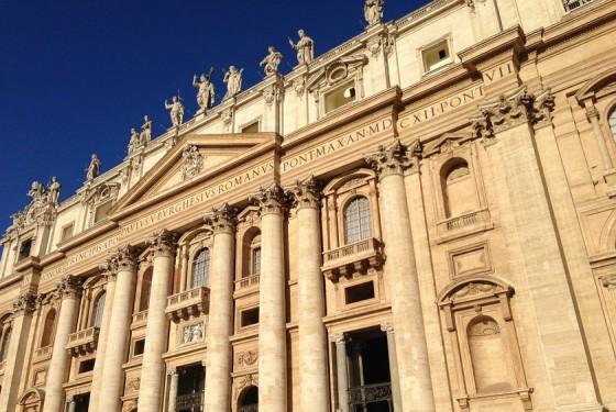 Vatikanischen Museen in der Nähe von Rom
