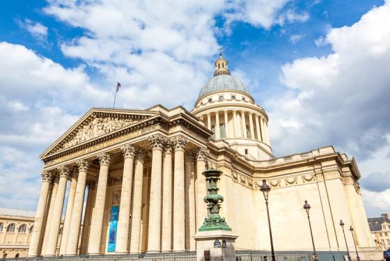 Seitenansicht von dem Pantheon in Paris