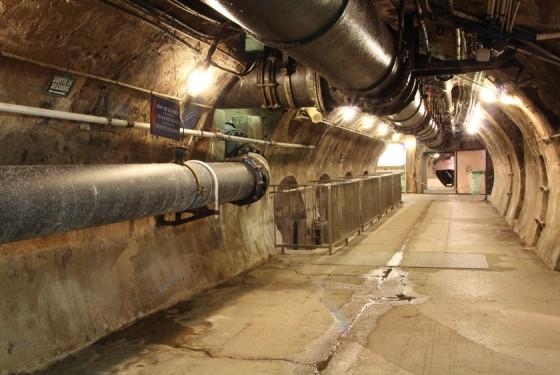 Tunnelgang im Musee des Egouts de Paris