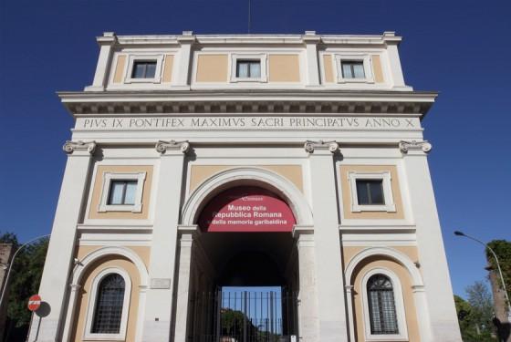 Museo della Repubblica Romana e della memoria garibaldina Eingang