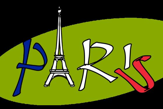 Schriftzug von Paris mit dem a als Eifelturm