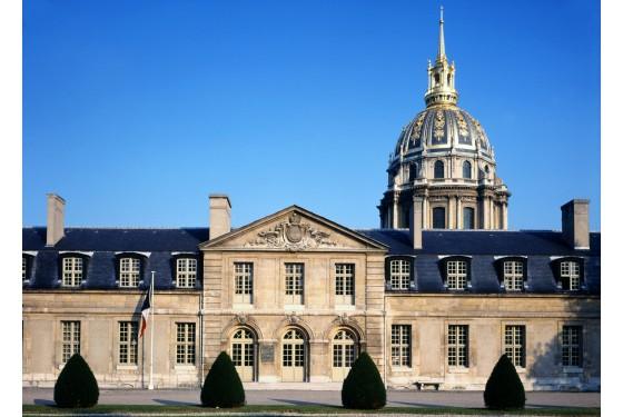 Seitenansicht vom Musee de Ordre de la Liberation in Paris