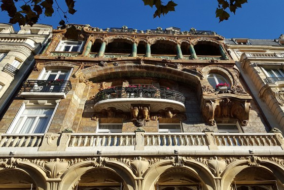 Geführte Tour durch Paris, Architektur des Jugendstils, Art Nouveau