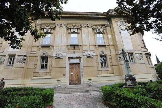 Außenansicht des Museo Storico dei Granatieri