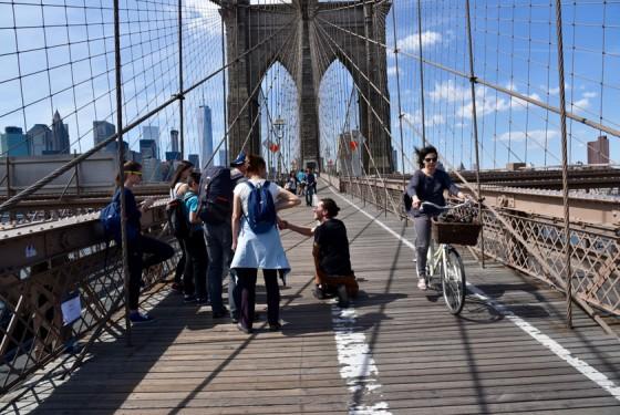 brooklyn bridge sightseeing fahrrad und rollerbladesverleih turbopass. Black Bedroom Furniture Sets. Home Design Ideas