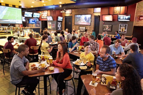 Buffalo Wild Wings Innenansicht