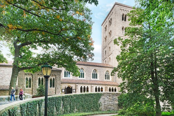 The MET Cloisters - a branch of the Metropolitan Museum of Art
