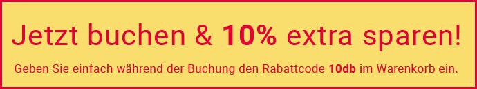 Rabattaktion - 10% sparen auf London City Pass!